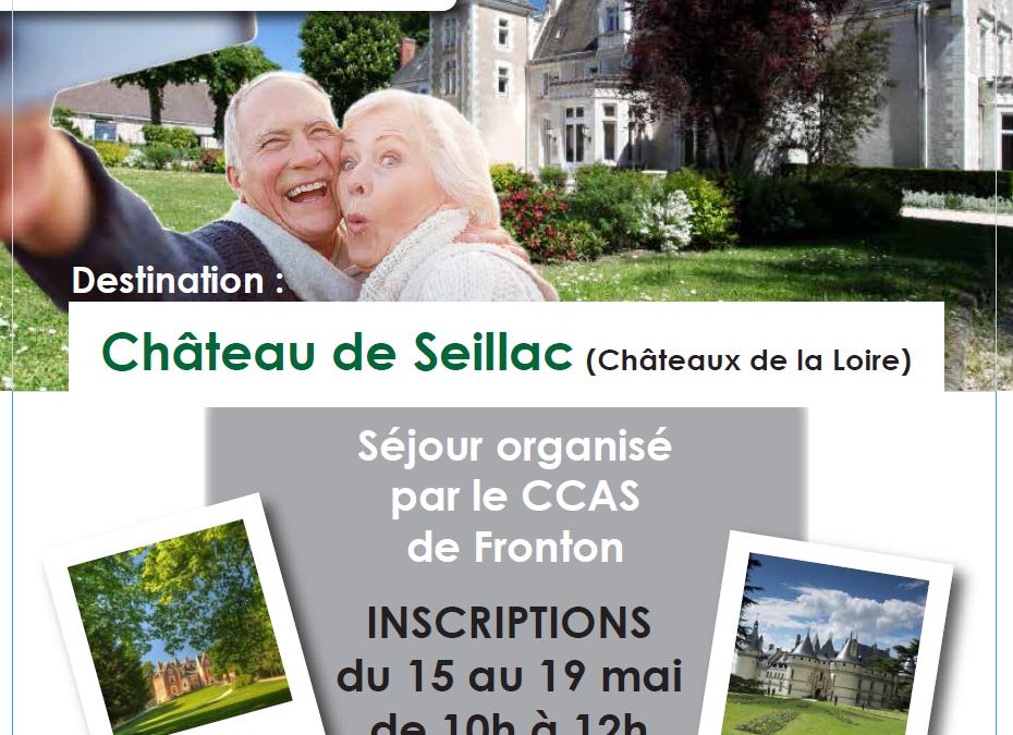 Inscriptions # Séjour des aînés / ANCV