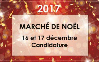 Candidature # Marché de Noël # FRONTON – 17/18 décembre 2017