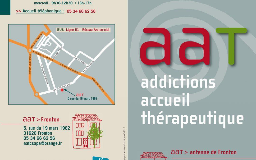 Un centre de soins en Addictologie à Fronton – AAT (Addictions Accueil Thérapeutique)