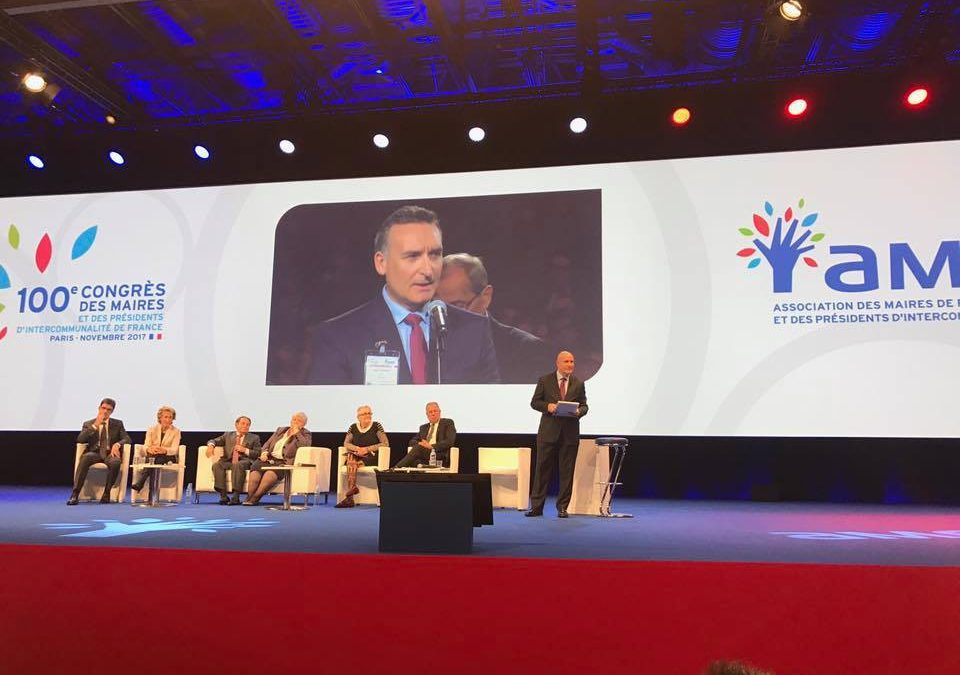 Intervention de M. Hugo Cavagnac, Maire de Fronton, au 100e Congrès de l'AMF