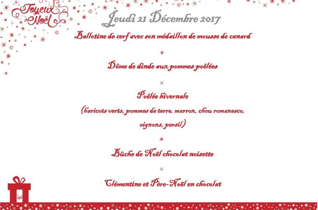 Repas de Noël des petits Frontonnais !