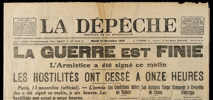 «100 ans d'armistice» : appel au prêt d'objets