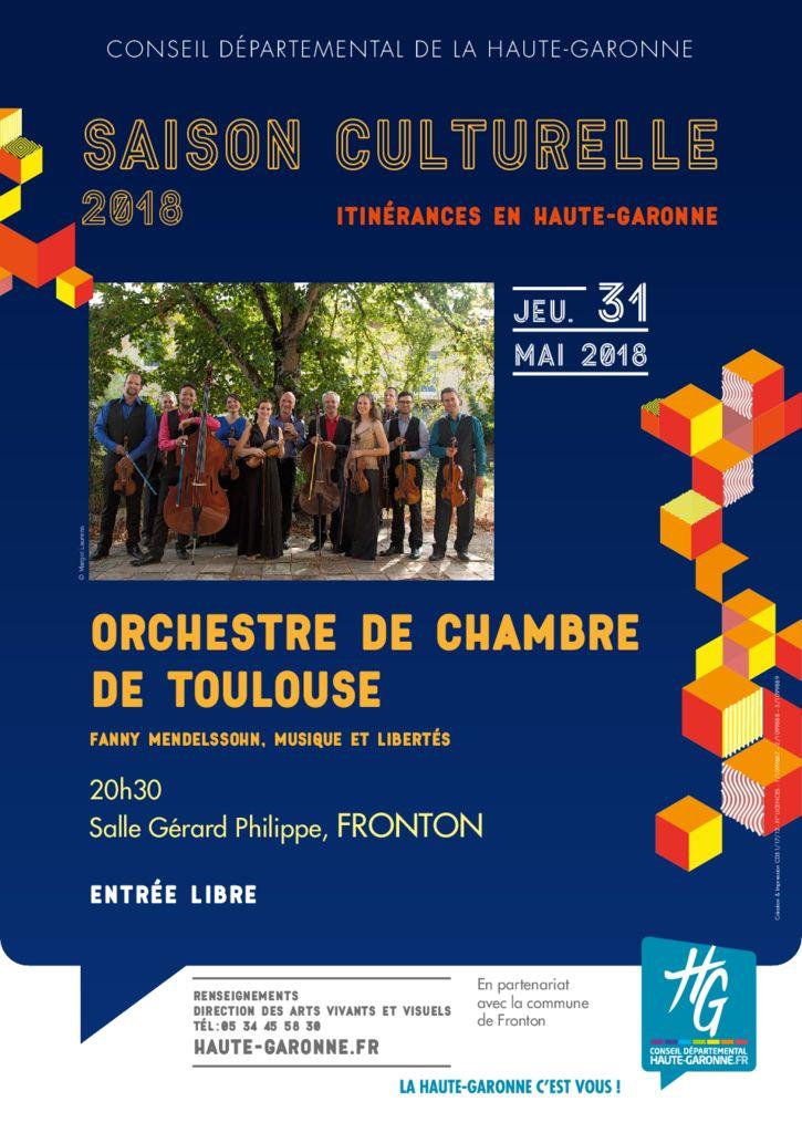 05312018 orchestre de chambre de toulouse ville de fronton - Orchestre chambre toulouse ...