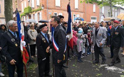 Fronton célèbre le 73ème anniversaire de la fin de la Seconde Guerre mondiale
