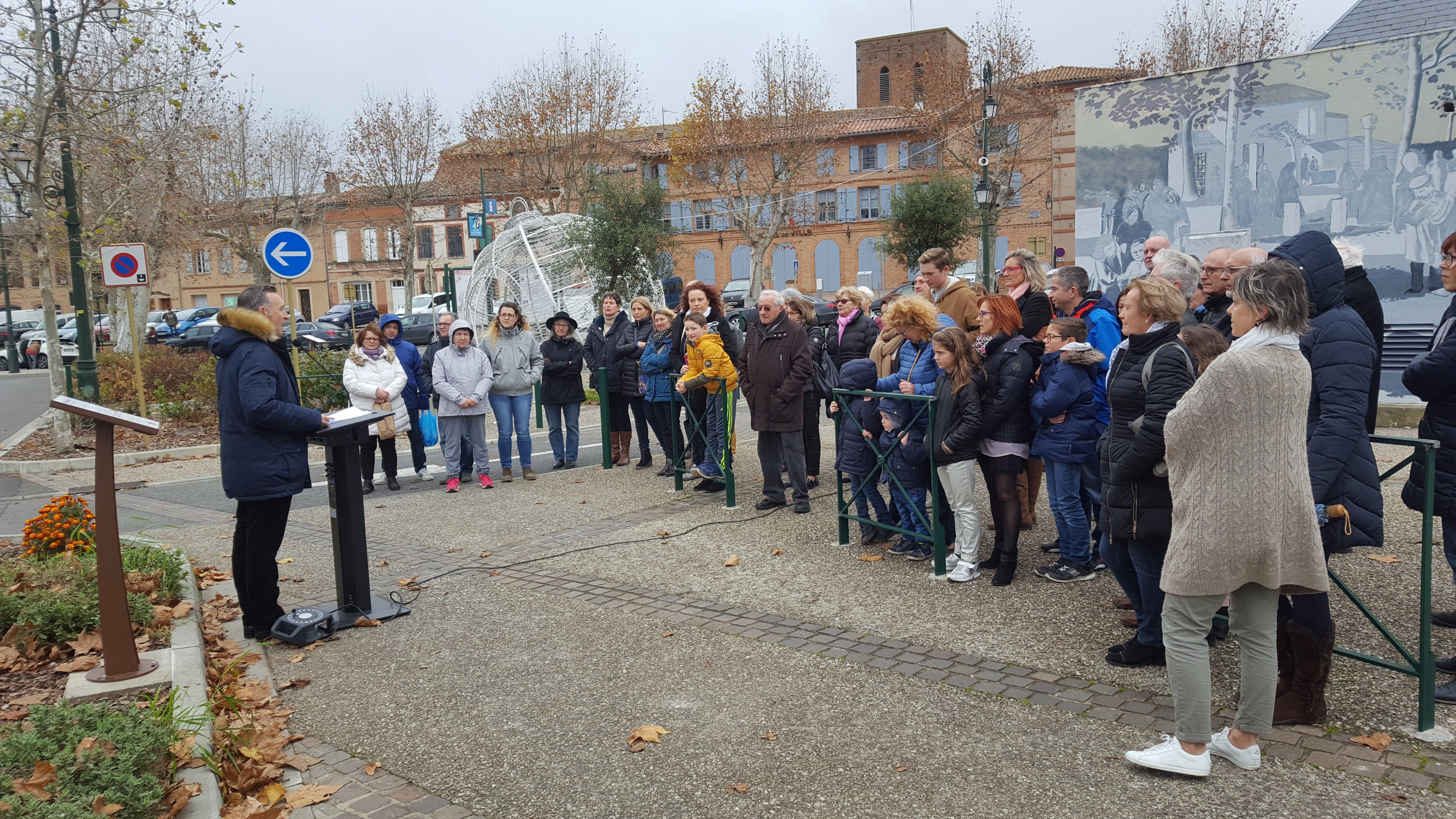 Le 9 décembre, Fronton a célébré la Journée nationale de la Laïcité