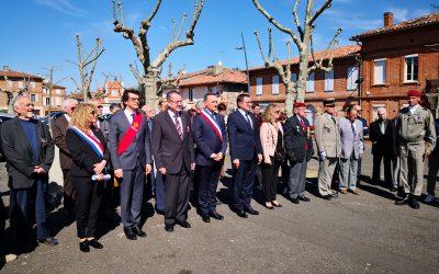 Commémoration du 57e anniversaire du cessez de le feu de la guerre d'Algérie