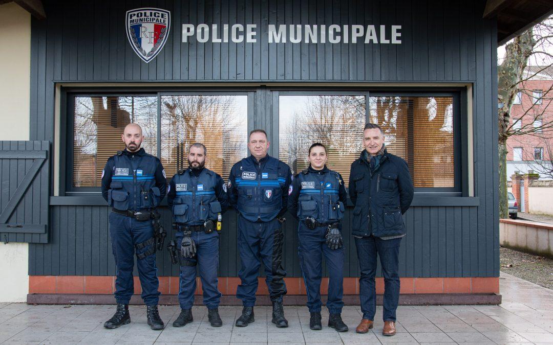 La Police municipale en effectifs complets