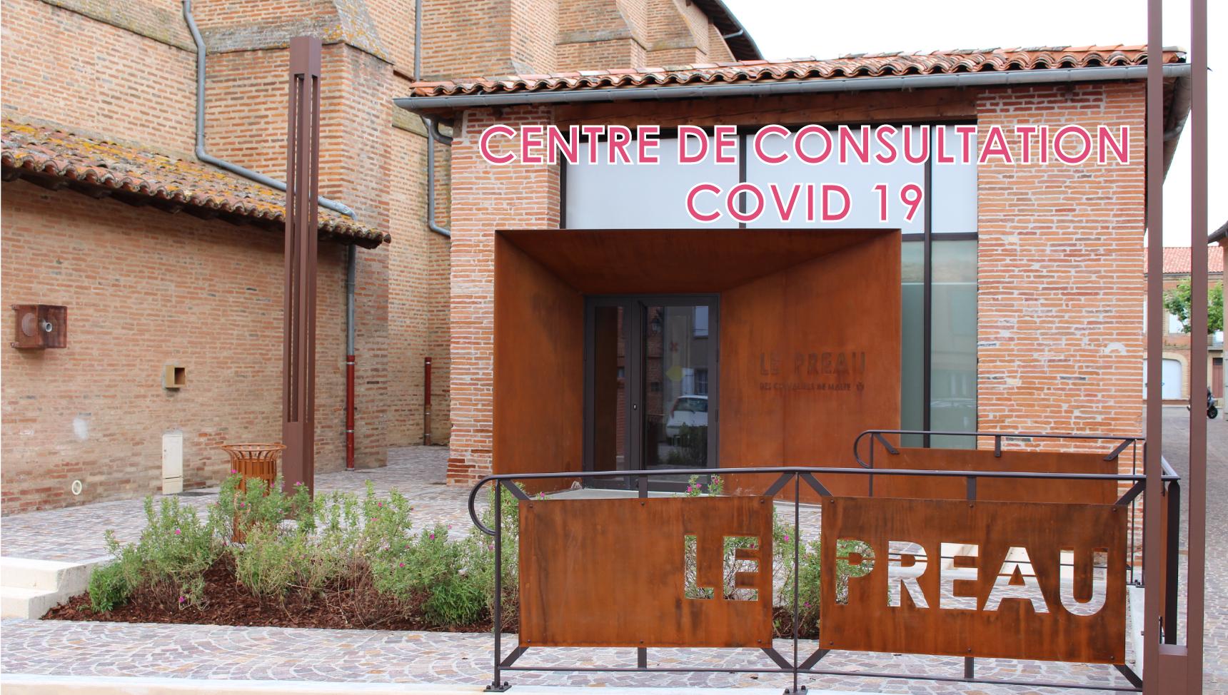 CENTRE COVID-19 FRONTON