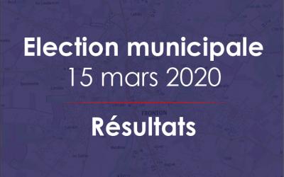 Election municipale – Résultats