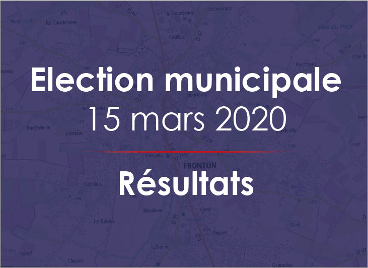 Election municipale – Résultats