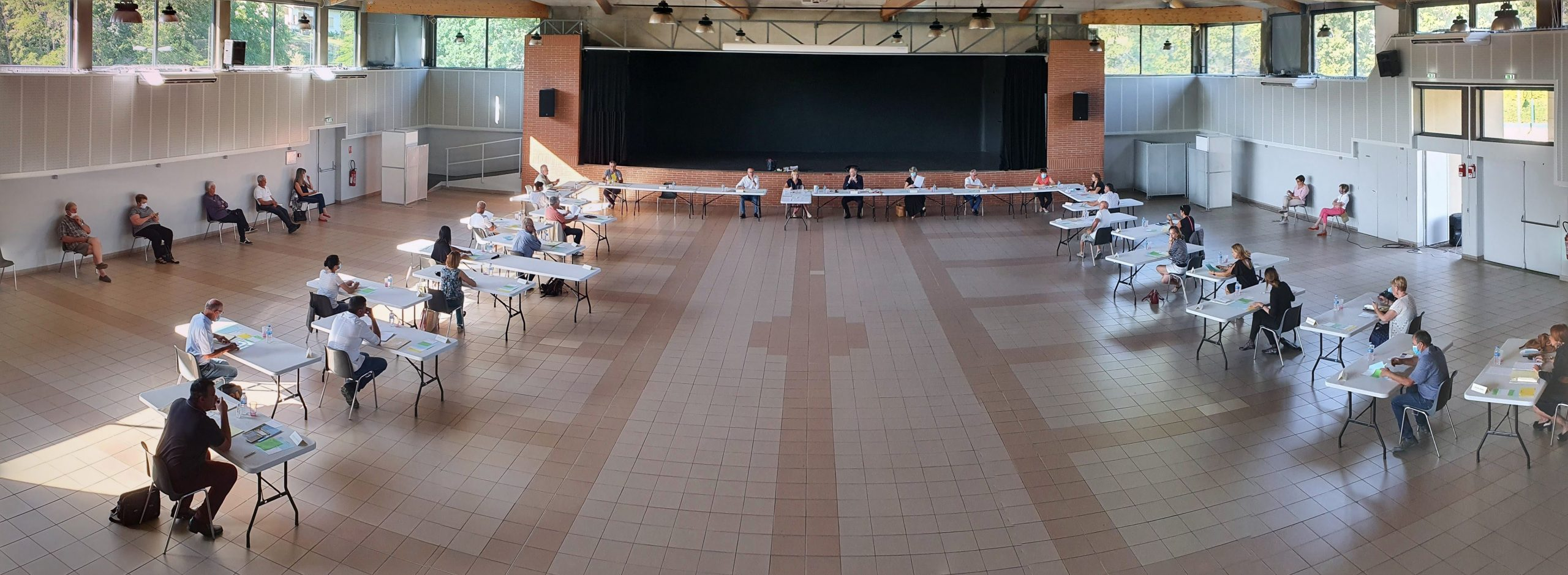 Installation du Conseil municipal – Election du Maire