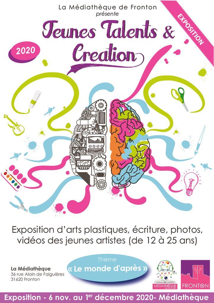 thumbnail of Affiche Jeunes Talents et Création_2020 Expo