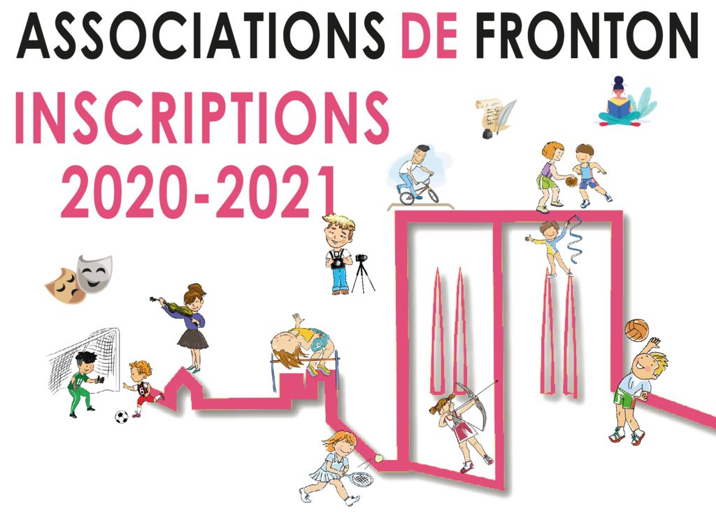 SAISON 2020 -2021 INSCRIPTIONS AUPRÈS DES ASSOCIATIONS