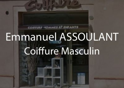 Coiffure Masculin – Emmanuel ASSOULANT