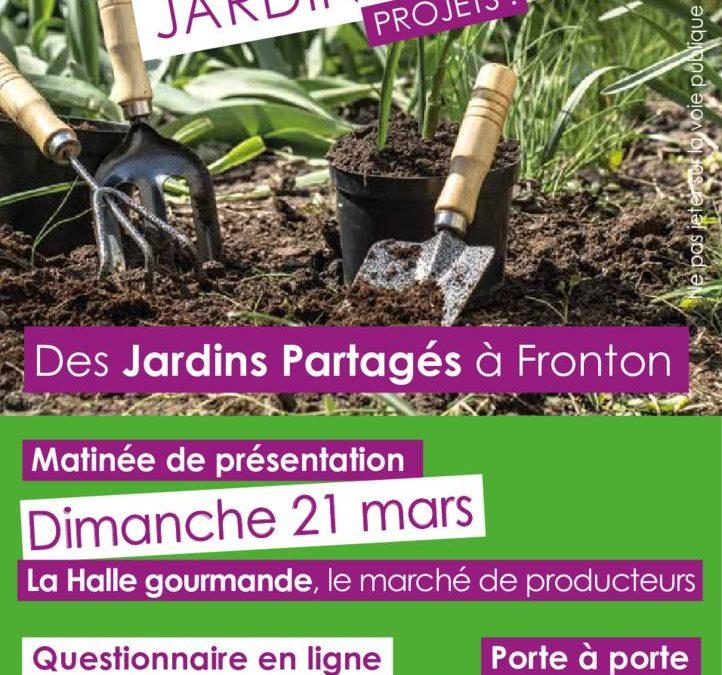 Des Jardins partagés à Fronton