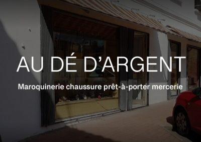 """""""AU DÉ D'ARGENT"""""""