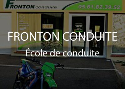 FRONTON CONDUITE