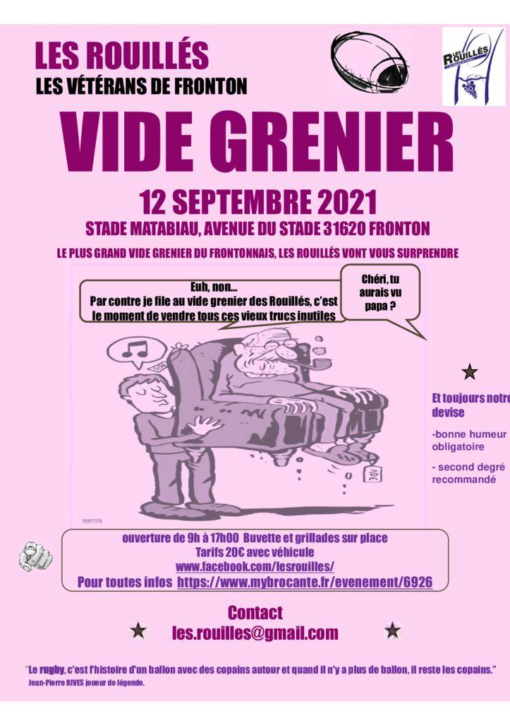 thumbnail of Vide Grenier LES ROUILLES 12 septembre 2021