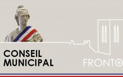 Réunion conseil municipal 27 Septembre 2021